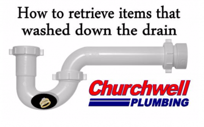 How to Retrieve Items that Wash Down the Drain