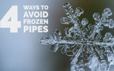 4 Ways to Avoid Frozen Pipes